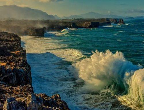Lugar mágico donde la montaña y el mar están muy cerca