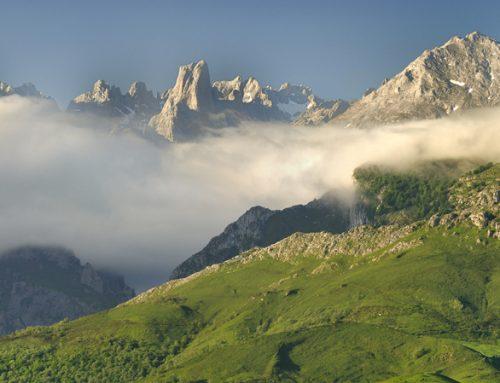El parque nacional de Picos de Europa con miles de senderos y rutas